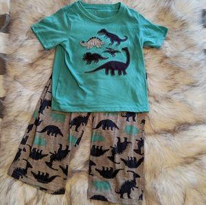 🌟3 for 15 Dinosaur Pajamas Sz 4T